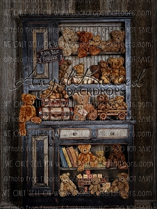 Teddy Bear Collector - 60x80 (Vertical Design)
