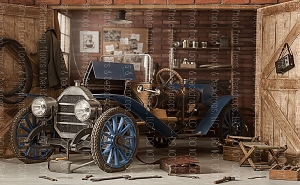 Vintage Garage 1 (Horizontal Design)